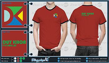 áo thun đồng phục Đà Nẵng mẫu 043