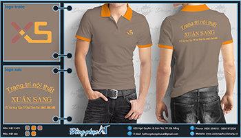 áo thun đồng phục Đà Nẵng mẫu 030