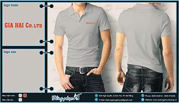 áo thun đồng phục Đà Nẵng mẫu 028