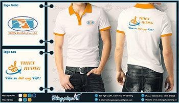 áo thun đồng phục Đà Nẵng mẫu 026