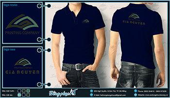 áo thun đồng phục Đà Nẵng mẫu 022