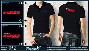 áo thun đồng phục Đà Nẵng mẫu 016