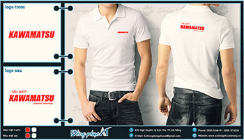 áo thun đồng phục Đà Nẵng mẫu 024