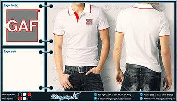 áo thun đồng phục Đà Nẵng mẫu 015