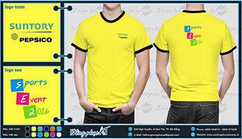 áo thun đồng phục Đà Nẵng mẫu 053