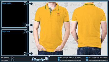 áo thun đồng phục Đà Nẵng mẫu 076