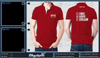 áo thun đồng phục Đà Nẵng mẫu 072