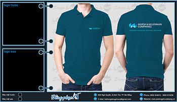 áo thun đồng phục Đà Nẵng mẫu 065