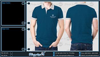 áo thun đồng phục Đà Nẵng mẫu 060