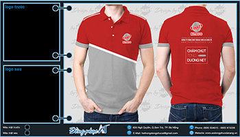 áo thun đồng phục Đà Nẵng mẫu 059
