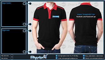 áo thun đồng phục Đà Nẵng mẫu 061