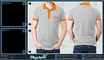 áo thun đồng phục Đà Nẵng mẫu 054