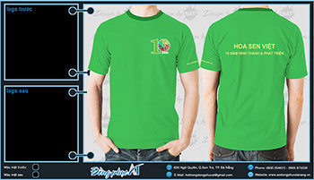 áo thun đồng phục Đà Nẵng mẫu 052