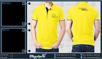 áo thun đồng phục Đà Nẵng mẫu 055
