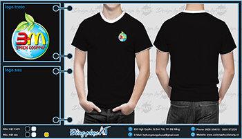 áo thun đồng phục Đà Nẵng mẫu 047